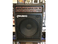 CARLSBRO COBRA K115 P.A./bass/keyboard amplifier