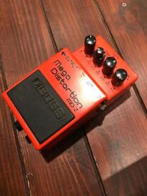 Boss MD2 Mega Distortion Guitar Effects Pedal
