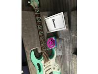 STEVE VAI - Ibanez JEM70V JEM Electric Guitar in Sea Foam Green