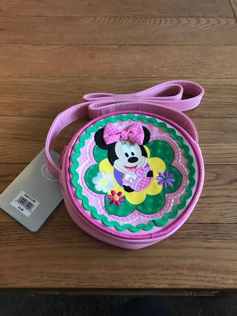 Disney Store Exclusive Minnie Mouse Bag New
