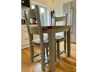 Original Cotswold co solid oak dining set