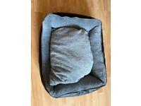 Scruffs Chateau Orthopaedic Box Dog Bed - Dove