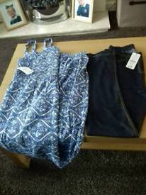 Girls brand new age 12 -13 years summer jumpsuit and jeggings