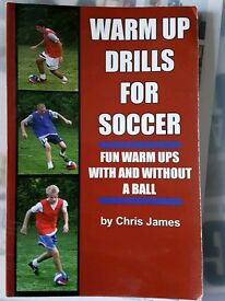 Football Coaching book - Warm up drills for Soccer
