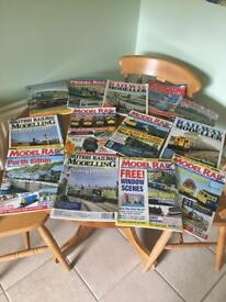 Fantastic variety of Railway Modeller magazines. Dating back.