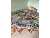 Fantastic variety of Railway Modeller magazines. Dating back.