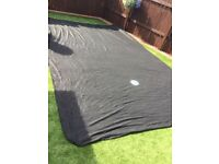 Car dust cover( black) new has not been used