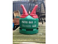 5kg patio/barbecue gas bottle.