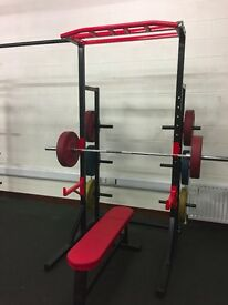 SQUAT RACK/ CROSSFIT/GYM/FITNESS/WEIGHTS