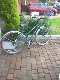 1980s old school retro bike