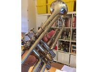 Trumpet / Weril Master / Silver plated / Perfect working order