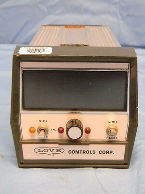 Love Controls Model 166 Digital Temperature Controller -350 To 999f Type J