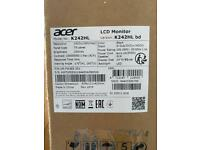 """ACER 24"""" K242HL Monitor"""