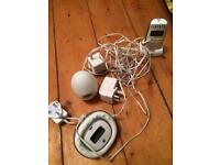 Baby Monitor and Night/temperature light