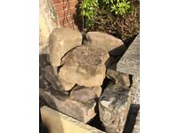 Rockery large boulders /stones