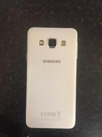 Samsung galaxy a3 , on three not sure if unlocked
