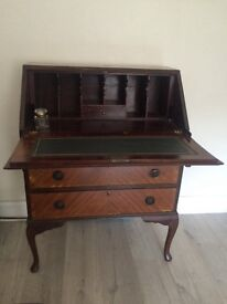 Lovely antique writers bureau desk