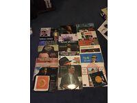 Frank Sinatra vinyl(21 albums and 3 singles)