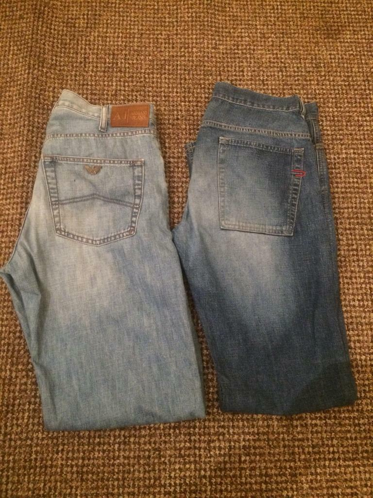 fb1f22c6 Armani and Diesel Jeans | in Handsworth, West Midlands | Gumtree