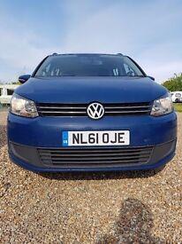 VW Touran 7seater 2011 towbar drives superb