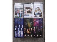 12 VHS tapes - Buffy, Angel and Friends