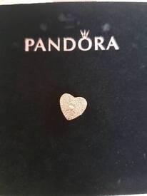 Genuine Pandora bangle and charms