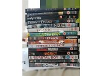 DVD movies for sale. £1 each or 5 for £4