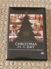 Christmas In A Day DVD by Kevin Macdonald Capturing Xmas in Britain Gift Idea Xmas Stocking Filler