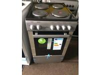 Stainless steel statesman 50cm bran new electric cooker grill & oven good condition with guarantee b