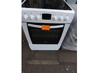ceramic cooker 60 cm , double oven, with 3 month warranty