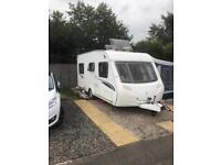 Sterling Europa 470 caravan/ tourer