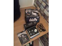 Audient ID4 USB + M-Audio AV 40 Studio Monitors