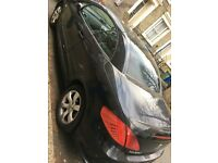 Peugeot 307 cc black convertible