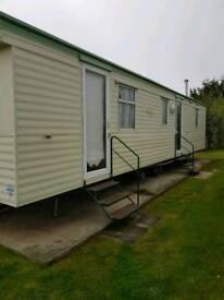 8 birth static caravan in parkdean Scotland