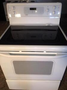 Kenmore Ceramic Glass Top Stove/Range, FREE WARRANTY, Delivery Available