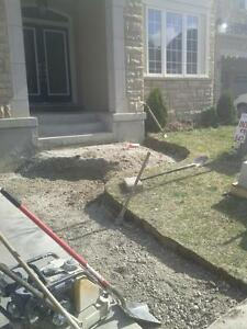 Interlocking and concrete paving! Brick repairs!