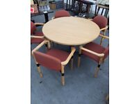 Conference table & 5 chairs