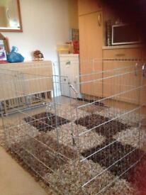 Dog pram and cage