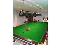 Riley Aristocrat Full Size Snooker Table