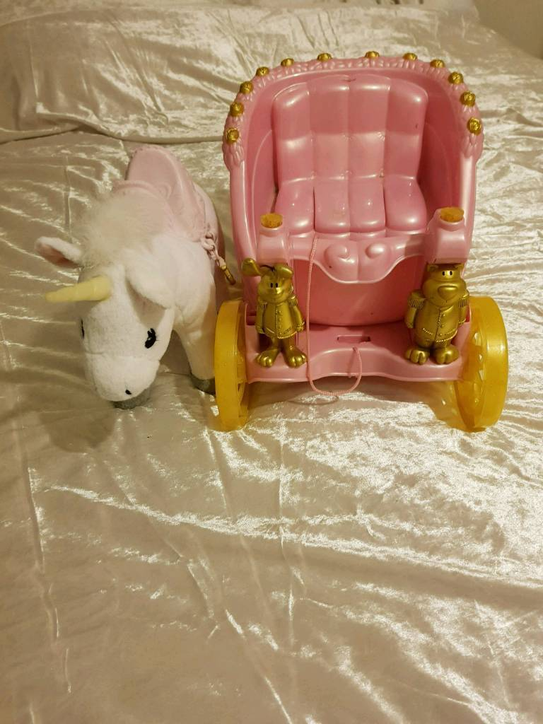 Baby Born carriage and unicorn