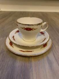 Swinnertons Cup and Saucer Trio - Bone China