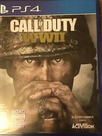 Call of Duty WW11 on PS4