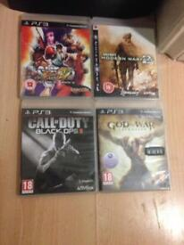 Ps3 slim 1 controller 4 games for sale