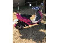 2003 sym jet 50cc moped (full years mot)