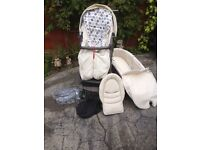 STOKKE XPLORY PUSHCHAIR FOOT MUFF ALONE COSTS 95.00