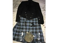 Full men's kilt outfit