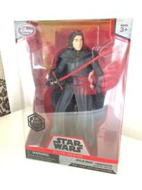 Star Wars Die Cast Elite Series Kylo Ren Figure Brand New
