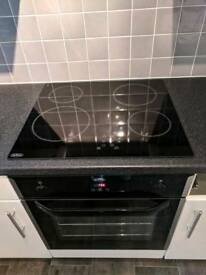 Belling single oven and electric hob