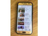 Samsung galaxy S7 Edge Unlocked small crack fully working