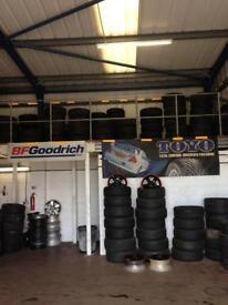 Part worn tyres (Burton upon Trent)